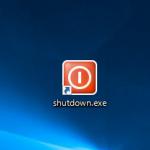WindowsXPをシャットダウン(shutdown)するショートカットの作り方