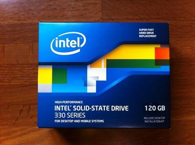 インテルのSSDを買ってみた!