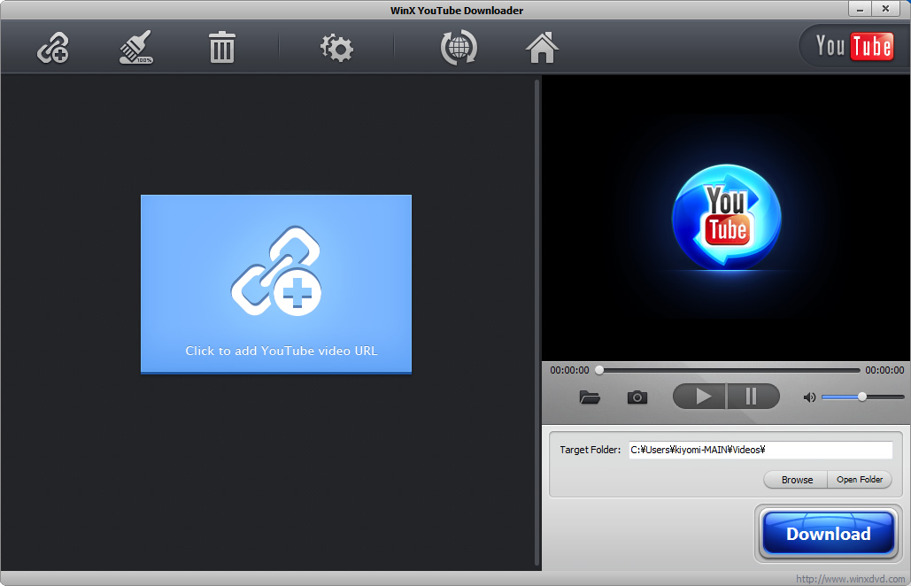 WinX YouTube Downloader(ウィンエックス・ユーチューブ・ダウンローダー)