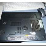 ノートPC*CLEVO M3x5S (パソコン工房モデル)光学ドライブ交換